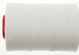 0.6mm White Ritza 25 Tiger Wax Thread For Hand Sewing. 25 - 125m length (125m) - $25.73