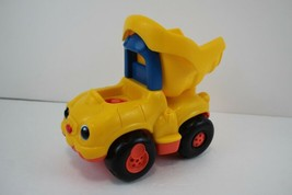 FISHER PRICE Little People Large Yellow Construction Dump Truck with Sounds - $6.92