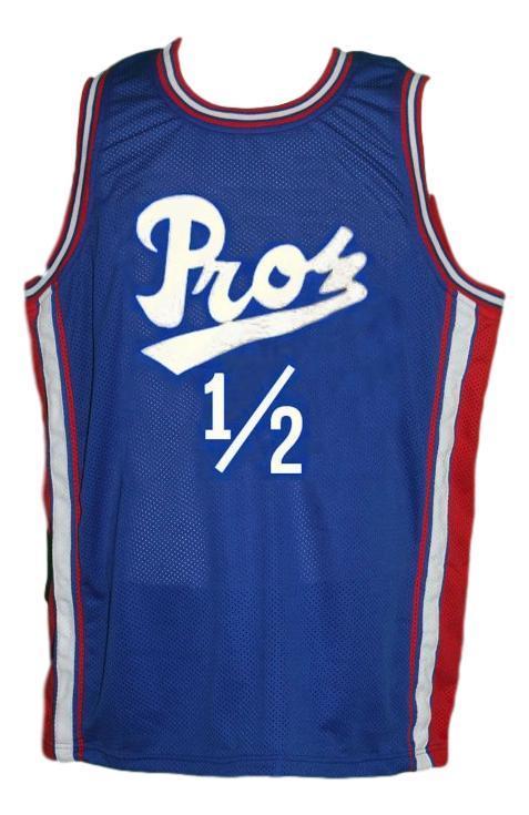 Penny hardaway lil penny  12 pros basketball jersey blue   1