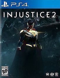 Injustice 2 (Sony PlayStation 4, 2017) PS4 Video Game [Used VG Complete]