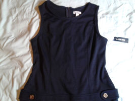 Old Navy, Navy Blue Sleeveless Dress, Sz 12, NWT, Closet125 - $13.00