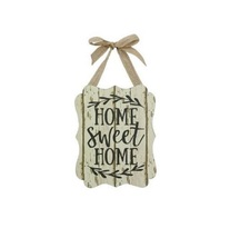 "Young's Wooden ""Home Sweet Home"" Plaque - $15.00"
