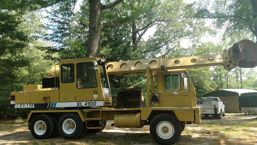 2001 GRADALL XL4100 For Sale in Montclair, VA 22025