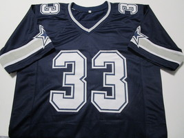 TONY DORSETT / NFL HALL OF FAME / AUTOGRAPHED DALLAS COWBOYS CUSTOM JERSEY / COA image 2