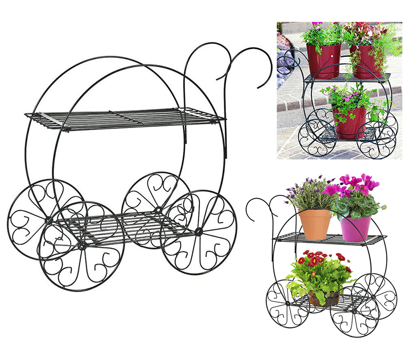 Plant Stands Indoor Outdoor Planters Stand Cart Patio Sets