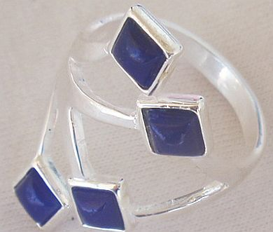 Blue branch ring