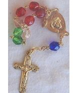 Mini colorful rosary - $15.00