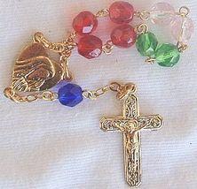Colorful mini rosary 1 thumb200