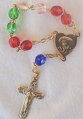 Mini colorful rosary