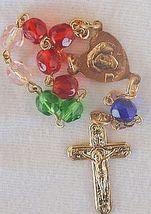 Colorful mini rosary 2 thumb200