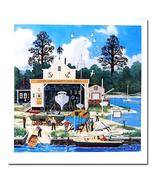 "Limited Edition Litho ""Salem Shipyard"" Jane Wooster-Scott - $45.95"