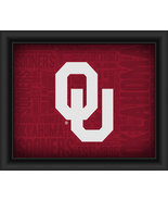 "Oklahoma University ""College Logo Plus Word Clouds"" - 15 x 18 Framed Print - $49.95"