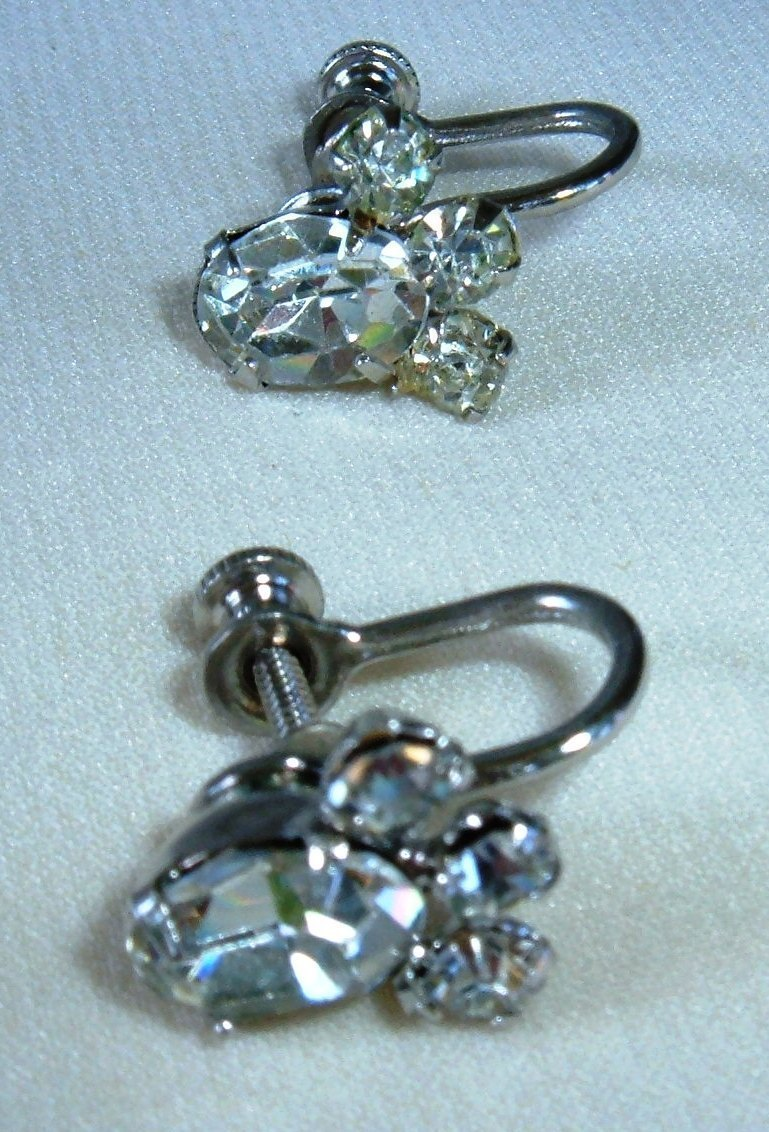 Screw back earrings dating