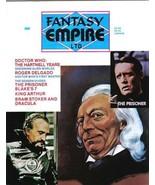 Fantasy Empire Limited Magazine #3 Doctor Who 1984 NEW UNREAD FINE+ - $4.75