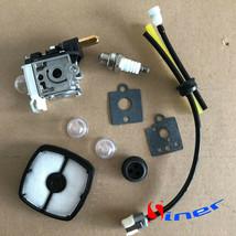 Carburetor Kit For Husqvarna 125BT Back Pack Blower with TJ027D-BC55 Eng... - $12.07
