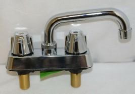 Homewerks Worldwide 16U42WNCHB Chrome Two Handle Laundry Tray Faucet image 2