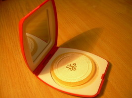 Vintage Soviet Russian USSR Powder Box With Mirror NOS About 1980 - $27.16