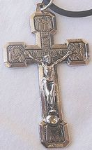 Silver color metal cross Ab - $24.00