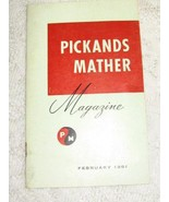 Pickands Mather Magazine-Feb 1961-Great Lakes Steel Industry- Wm Feather... - $5.25