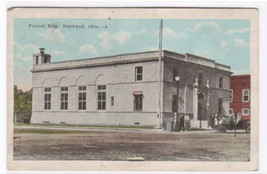 Federal Building Blackwell Oklahoma 1920s postcard - $5.94