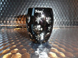 Faberge Na Zdorvye Galaxy Black Vodka Shot Glass etched by Faberge - $125.00