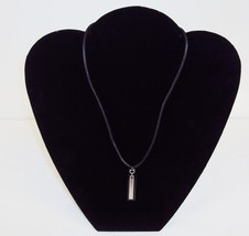 Necklace ~ GUESS Branded Leather Cord With Dual Metal Pendant ~ #5410030 - $9.75