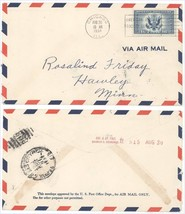 1934 CE1 Air Mail Special Delivery First Day Cover! Chicago FDC 8/31 Bac... - $4.99