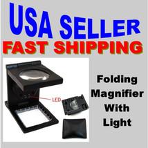 Magnifier 6X Light Linen Tester Folding Thread Counter Low Vision Thread... - $9.00