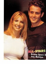 Britney Spears teen magazine pinup clipping New Kids on the block Joey Mcintyre