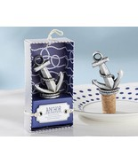 96 Nautical Anchor Wedding Wine Bottle Stopper Reception Favor Party Cor... - $198.98