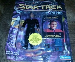 Playmates Toys Deep Space Nine : Commander Benjamin Sisko Action Figure - $4.94