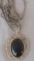 Oynx pendant with beautiful silver frame 5 thumb200