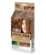 Henna Indian cream, in finished form. Chestnut. 50 ml. Natural, resistant - $12.00