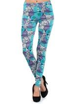 Wynona Bermuda Buttercup Printed Fashion Legging - $15.99