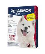 NEW PetArmor Max for Large Dogs 21-55 lbs, 6-count FREE SHIPPING - $39.99