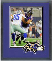 Haloti Ngata 2014 Baltimore Ravens - 11 x 14 Team Logo Matted/Framed Photo - $43.55