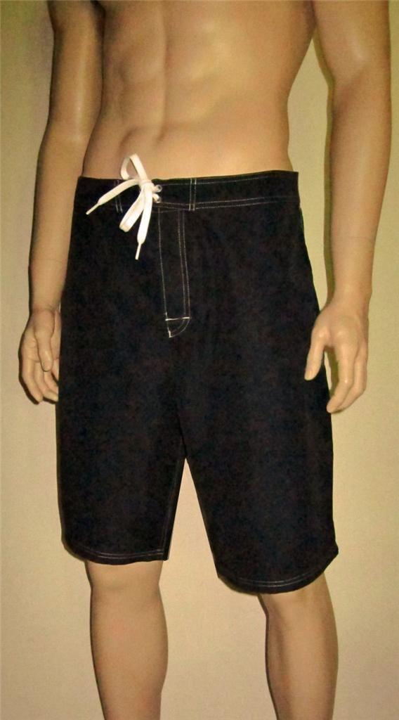 NWT Hanes Men's Swimwear Swim Shorts Wet'n Dry Board Shorts Swim Trunks image 4