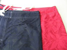 NWT Hanes Men's Swimwear Swim Shorts Wet'n Dry Board Shorts Swim Trunks image 6