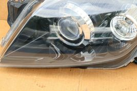 08-09 Saturn Astra Headlight Head Light Lamp Driver Left LH = POLISHED image 3
