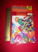 Home Gift American Greeting Grab Bag Set Tote Tissue Paper Ribbon Pretty Balloon - $4.74