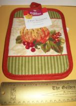 Better Homes Potholder Set BHG Pumpkin Harvest Kitchen Holiday Pot Holde... - $4.74