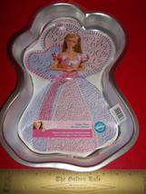 Barbie Doll Food Craft Toy Wilton Cake Pan Bake Set Recipes Enchanted Face Maker - $18.99