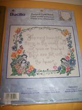 Bucilla Craft Kit Art Chickadee Stamped Cross Stitch Tapestry New Nature... - $18.99