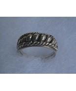 Vintage Sterling Silver Unisex Ring - $15.00