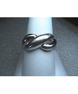 Vintage Sterling Silver Braided Ring  3.9 grams - $20.00