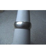 Vintage Sterling Silver Band Ring 3.5 grams - $15.00