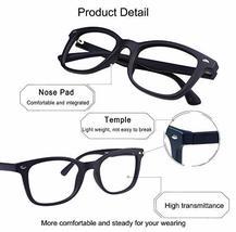Blue Light Blocking Glasses, Photochromic Brown Sunglasses, Anti UV, Anti Glare  image 5