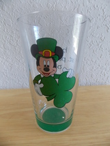 Disney Mickey Mouse Happy St. Patrick's Day Tall Glass  - $25.00