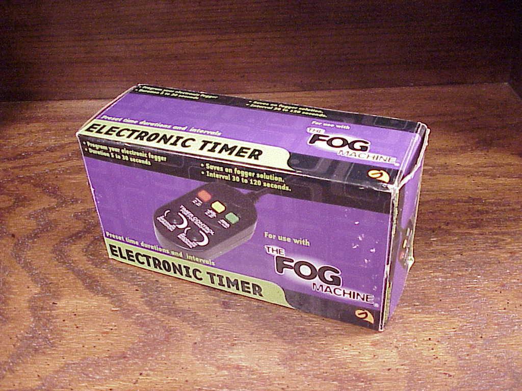 fog machine timer