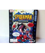 Amazing Spiderman Key Chain With Web Climbing Action Marvel Comics Super... - $27.00